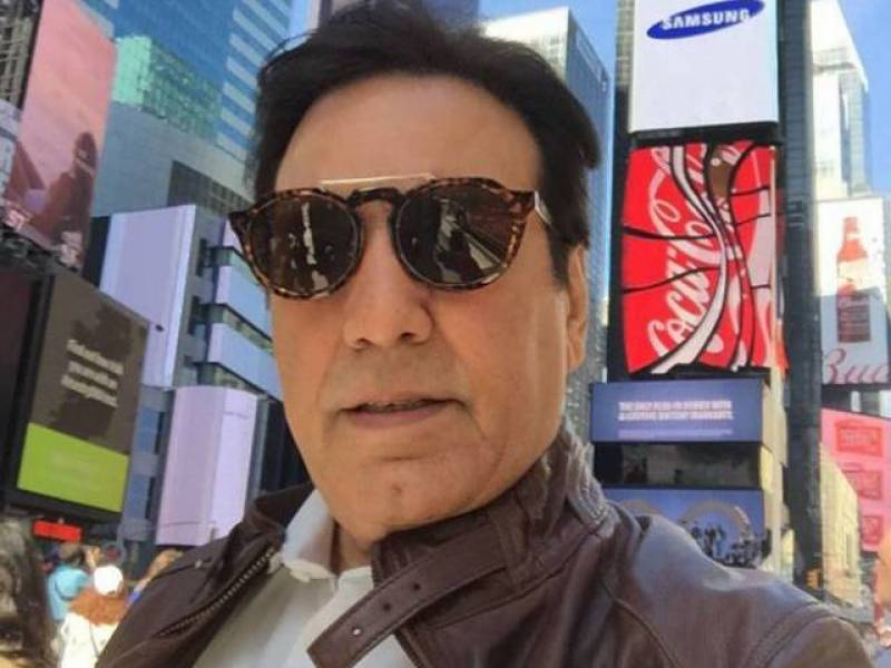 Javed Sheikh Trolls His Haters With This Picture