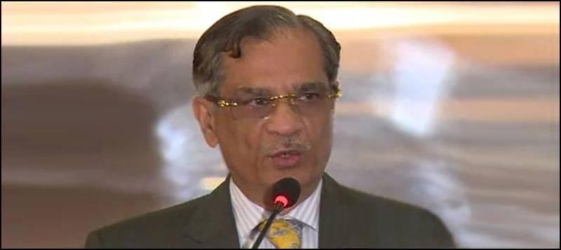 Pakistan's survival lies with supremacy of law: CJP Saqib Nisar