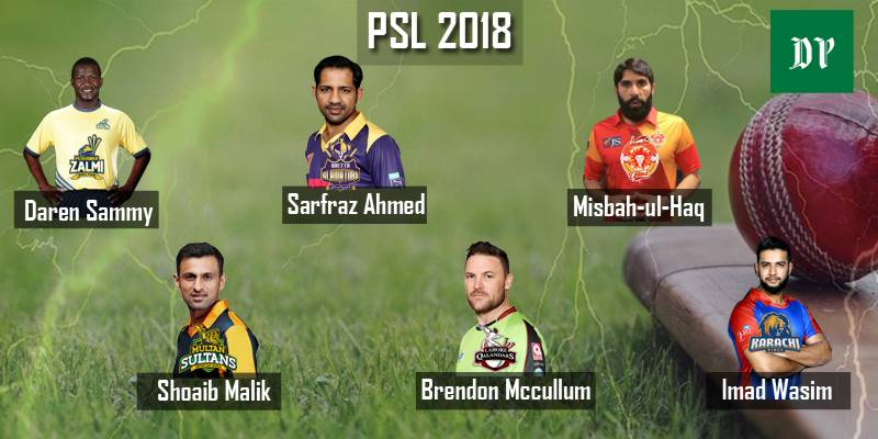 PSL 2018: Full Schedule, Squads, Time, Live Score & Live Streaming, TV Coverage, Tickets