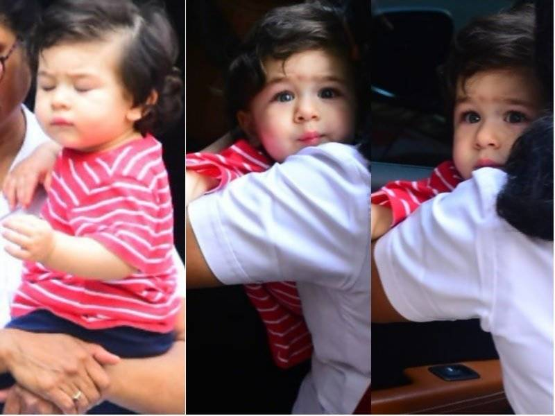 Taimur Ali Khan's After-School Face is Something We Can All Relate To