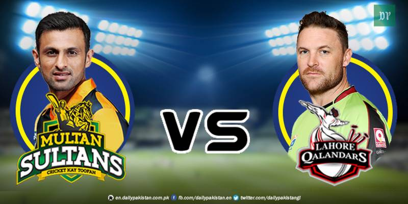 Multan beat Qalandars by 43 runs in PSL 2018