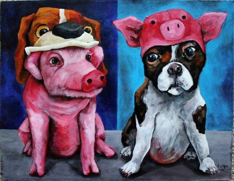 A Pig's Life in the Kingdom of Dog