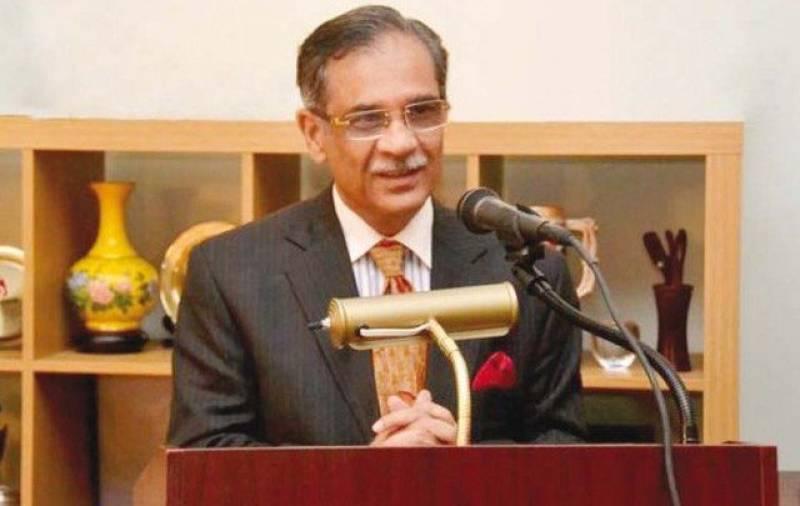 CJP takes suo motu notice of massive media campaigns by provincial govts
