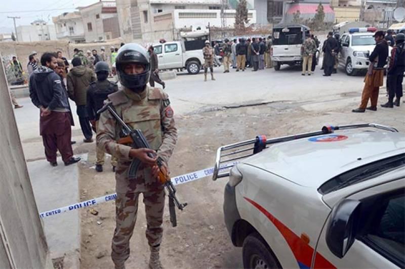 Four security personnel martyred in Quetta suicide attack