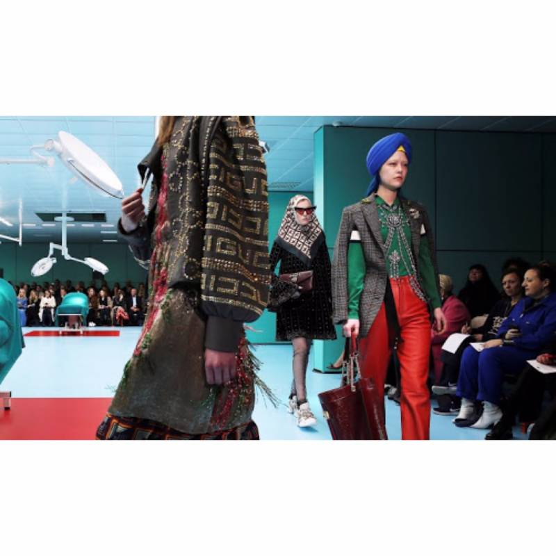 Gucci's new fashion show hits a sour note amongst muslims for 'appropriating' Hijab