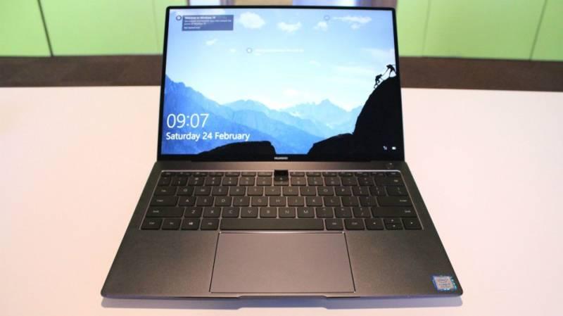 Huawei unveils MateBook X Pro Laptop at MWC 2018