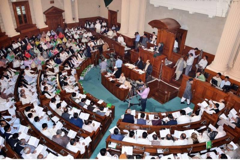 Punjab Assembly passes resolution against National Accountability Bureau
