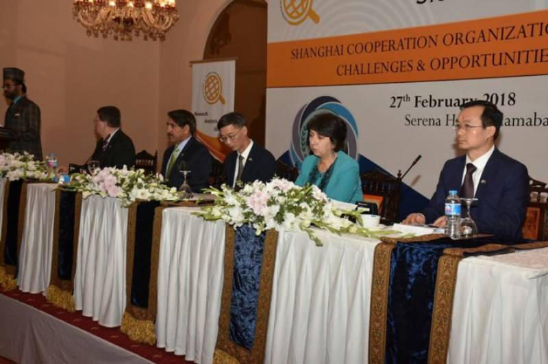 SCO moot discusses challenges, opportunities being faced by member states