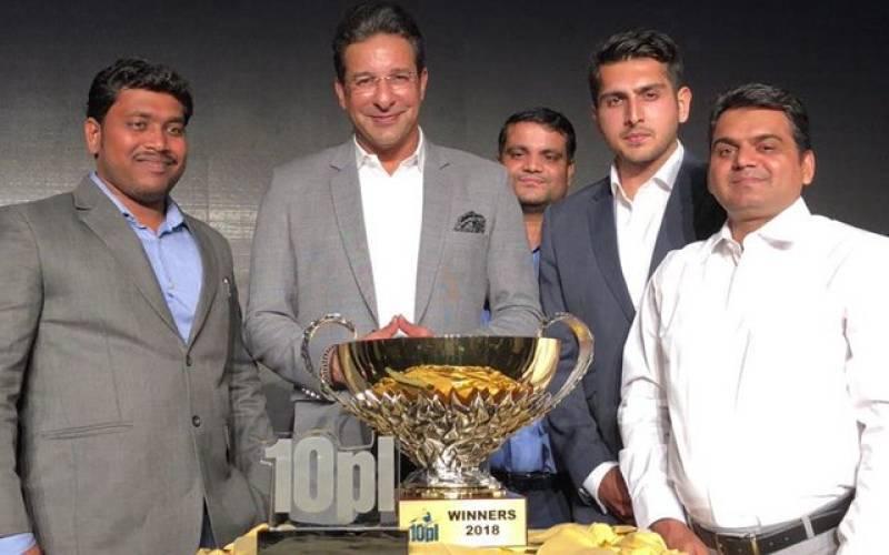 10PL 2018: Wasim Akram launches world's biggest tennis ball cricket tournament