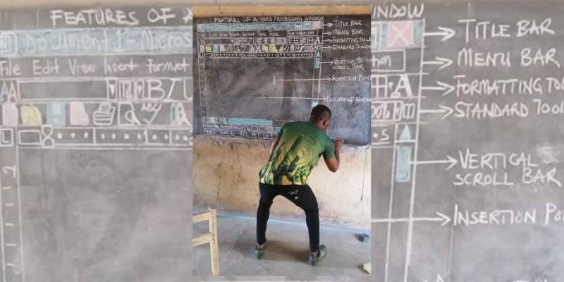 Microsoft to support Ghanaian teacher who coaches MS Office through blackboard
