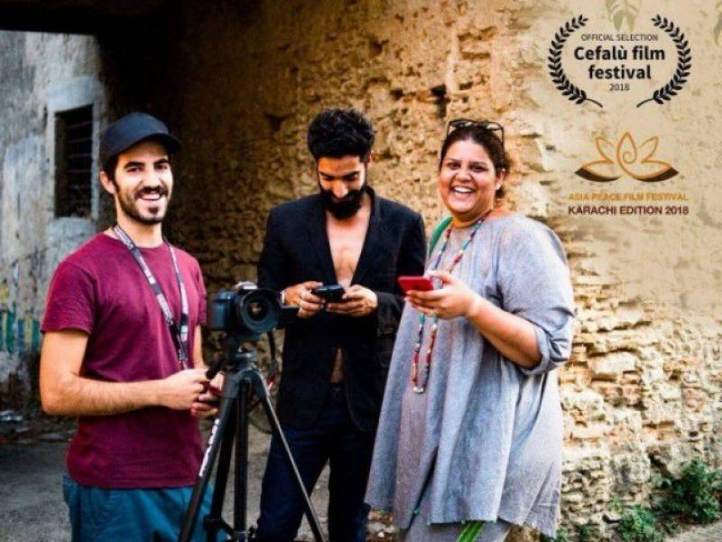 """Pakistani Short Film """"GOLDEN TICKET"""" by Saira Mansoor Nominated for Asia Peace Film Festival and Selected For Cefalu Film Festival"""