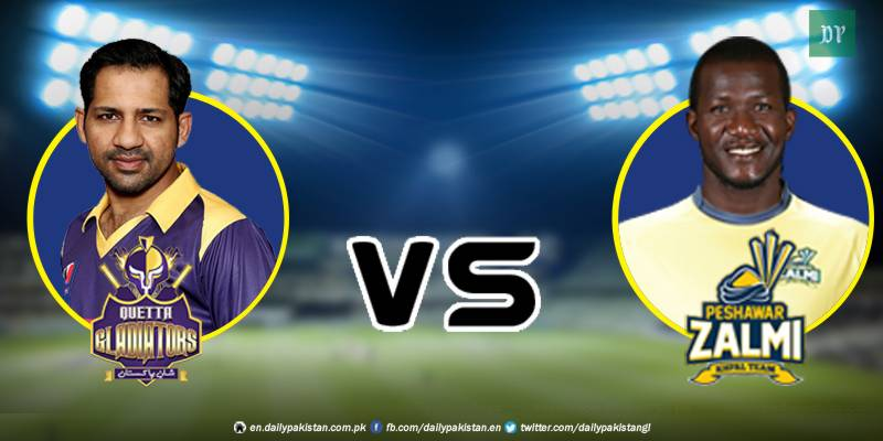 PSL 2018 - 10th match: Injured Sammy brings glory for Zalmi batting on one leg against Gladiators