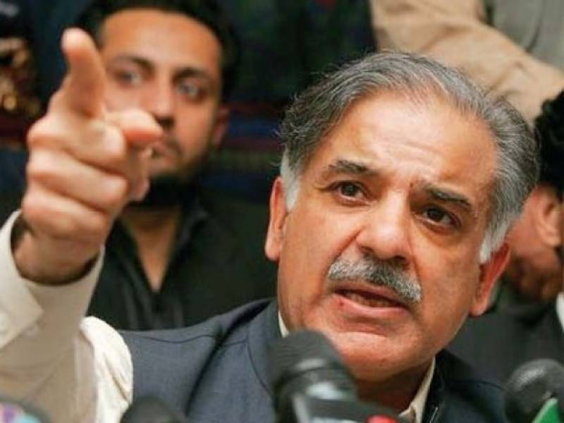 Shehbaz Sharif lashes out at Imran Khan over false accusations