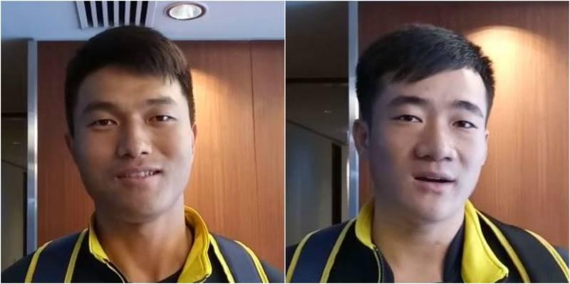 Two Chinese cricketers join Peshawar Zalmi squad in Dubai
