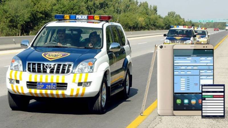 Islamabad traffic police launches E-Challan system for violators