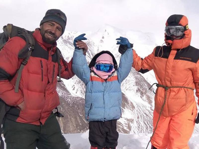 Pakistani girl becomes youngest to scale 5,000m peak