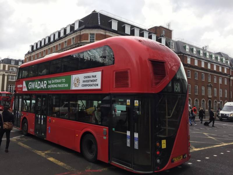 Chinese company launches most expensive ever campaign to promote Pakistan's Gwadar in London