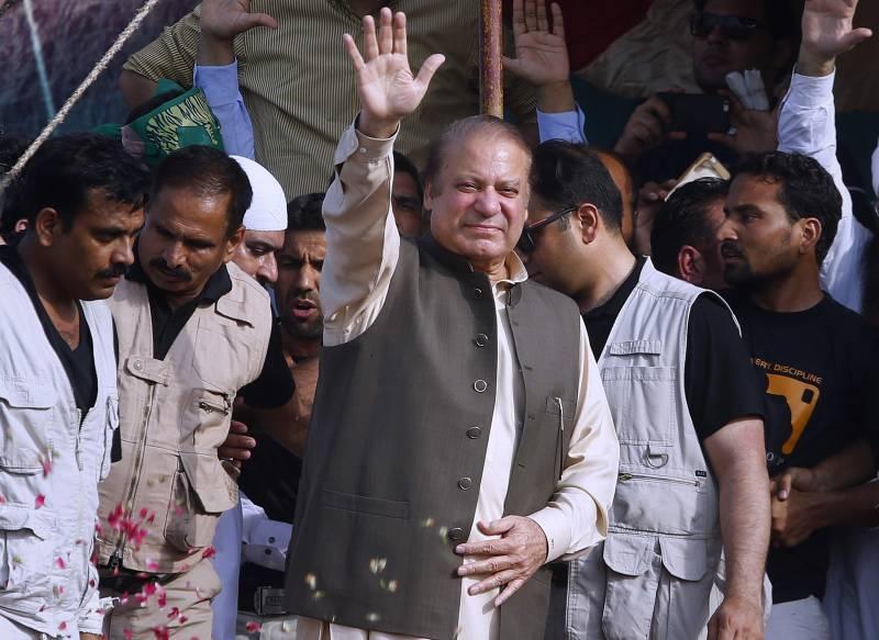 PML-N Gujrat rally: Nawaz Sharif pledges to fight for sanctity of vote