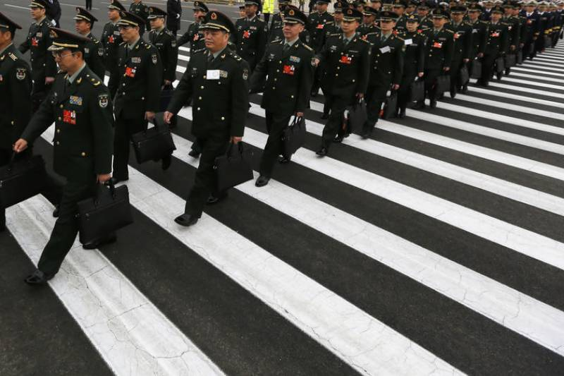 China announces 1.11 trillion yuan military budget for 2018