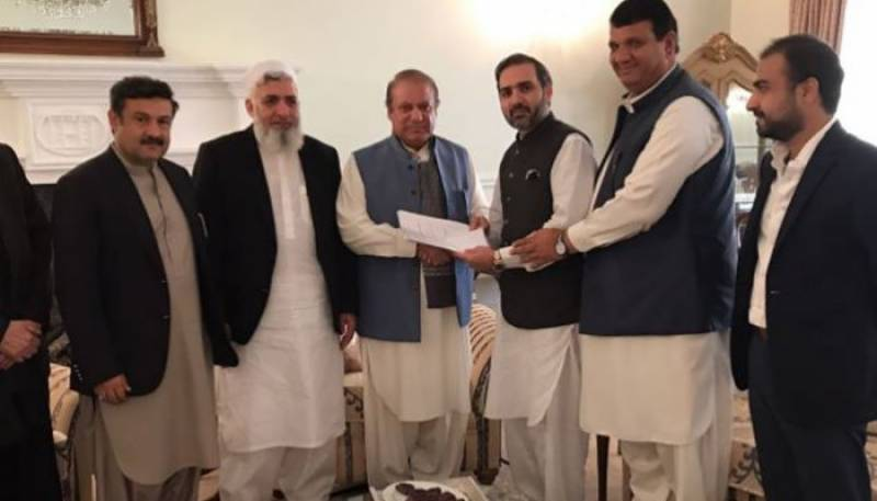 PML-N's Senate strength swells to 34 as independent Senator Mirza Muhammad Afridi joins party