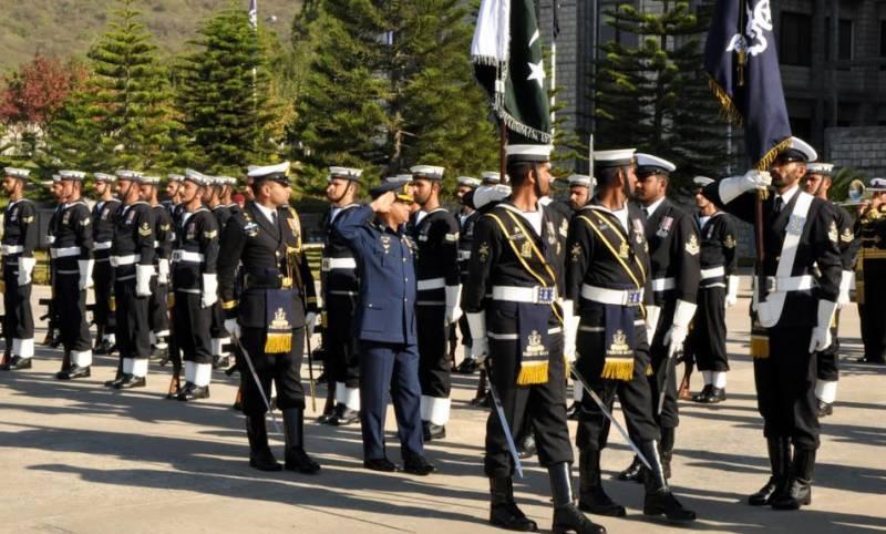 Air chief Sohail Aman pays farewell call on Naval chief