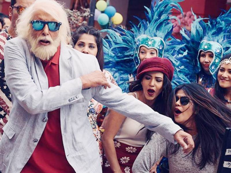 Fans already love Amitabh Bachchan's rap song for his next film with Rishi Kapoor