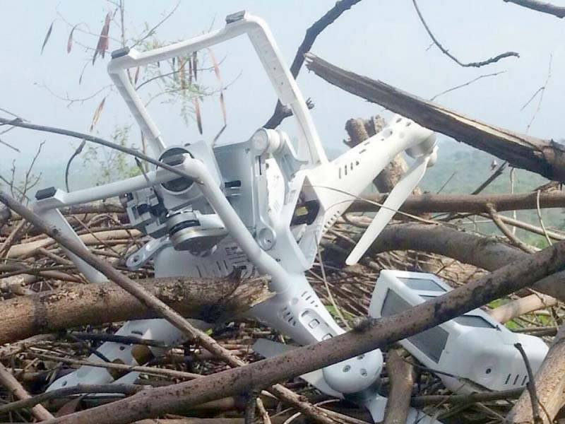 Pak army shoots down Indian spy drone in Chirikot Sector: ISPR