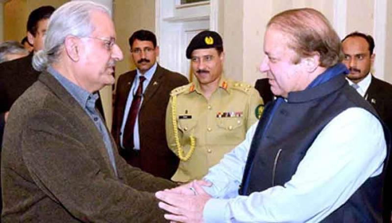 Nawaz Sharif supports, Zardari opposes Raza Rabbani as Senate chairman