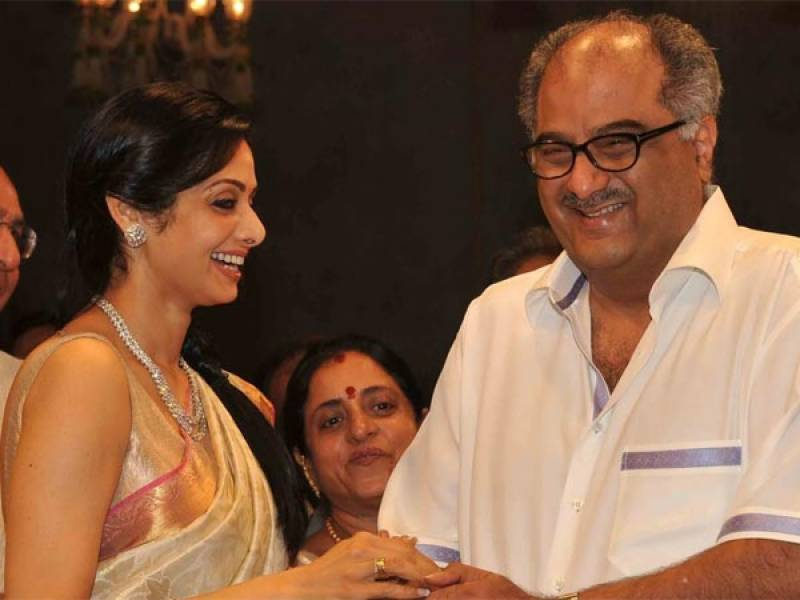 Boney Kapoor set to make a documentary on Sridevi's life