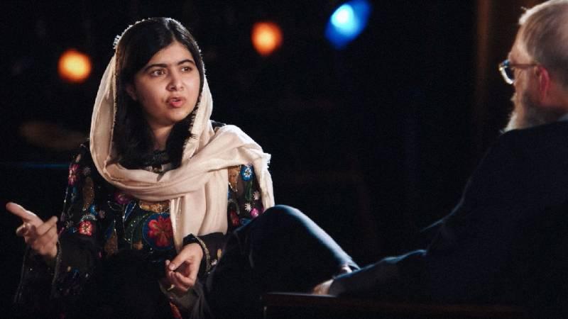 Malala talks girls' education, Muslim ban and Trump on David Letterman's new Netflix show