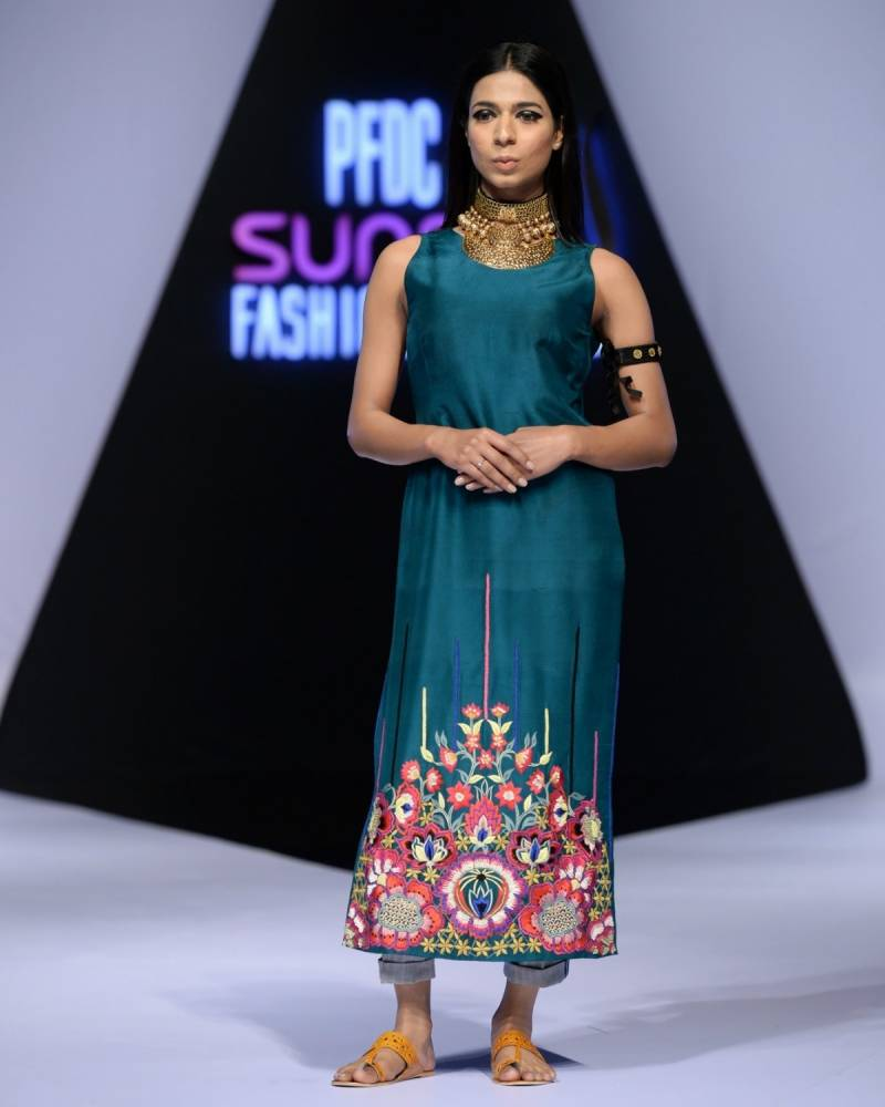 PFDC Sunsilk Fashion Week makes history by including Transgender model on the runway