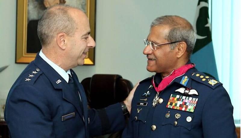 Air Chief Marshal Sohail Aman conferred US Legion of Merit award