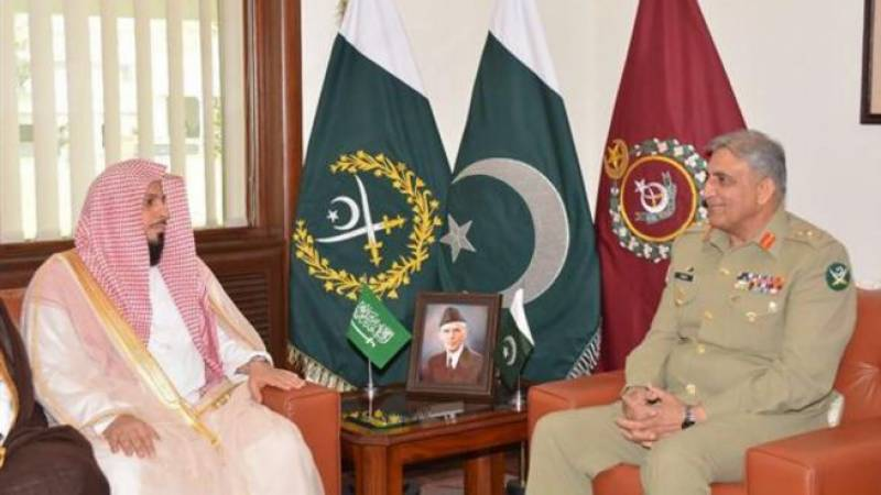Army chief, Imam-e-Kaaba discuss matters of mutual interest