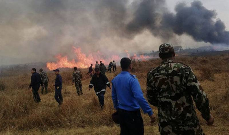 Causalities feared as Bangladesh passenger plane crashes in Nepal