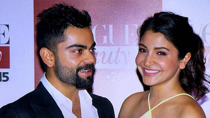 'Chilling': Virat Kohli shares picture of wife Anushka Sharma kissing him