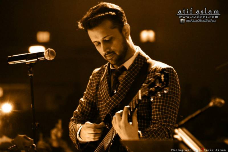 It's Atif Aslam's birthday and fans from both sides of the border are sending their love