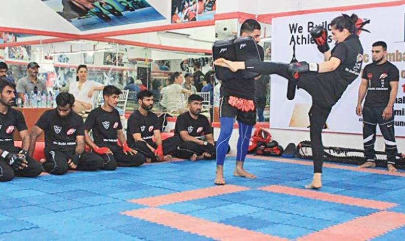 Rameesha Shahid, Pakistan's first female kickboxing instructor is changing the game one kick at a time