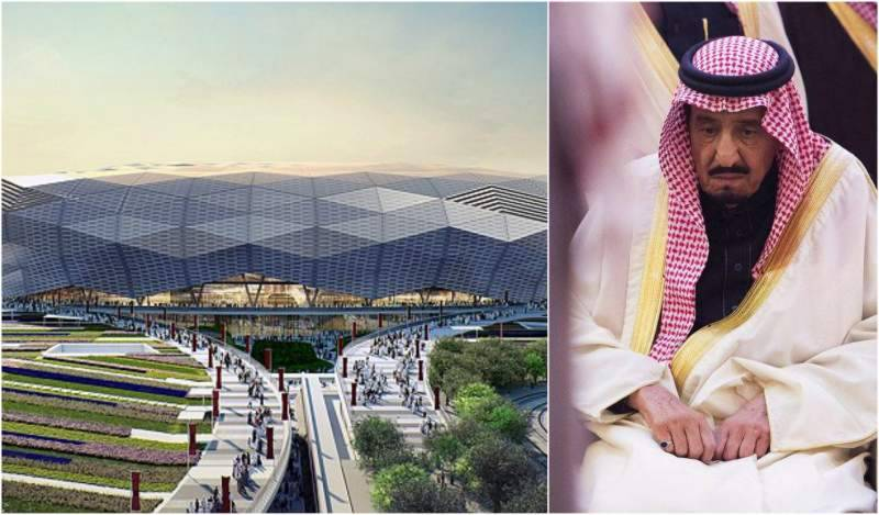 Saudi king builds 'world's largest stadium' in Iraq after losing football match