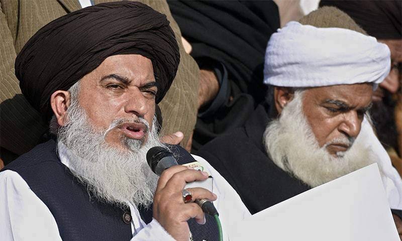 ATC orders arrest of Khadim Hussain Rizvi, Pir Afzal Qadri in Faizabad sit-in case