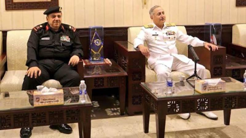 Naval Chief highlights resolve of Pak Navy against maritime terrorism