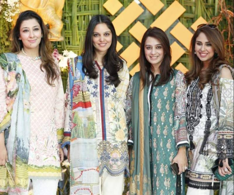 SairaRizwan and ITTEHAD Textiles celebrated the success of their Lawn collection 2018