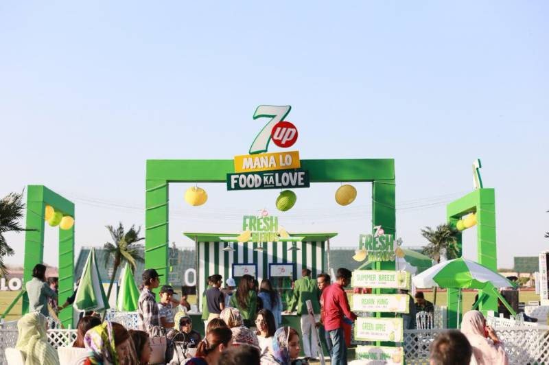 7up Lahore Eat- A foodies paradise
