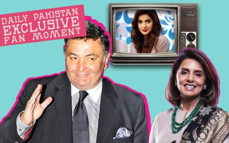 Exclusive: Rishi Kapoor and wife Neetu Singh are biggest fans of Saba Qamar's acting