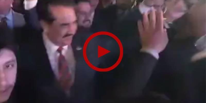Former Gen Raheel Sharif shows his dance moves on pashto song
