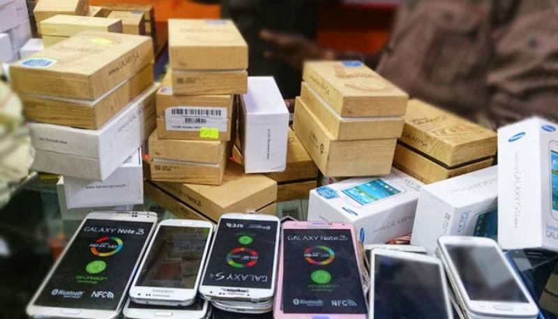 Mobile phones import reaches $526.036 million in eight months
