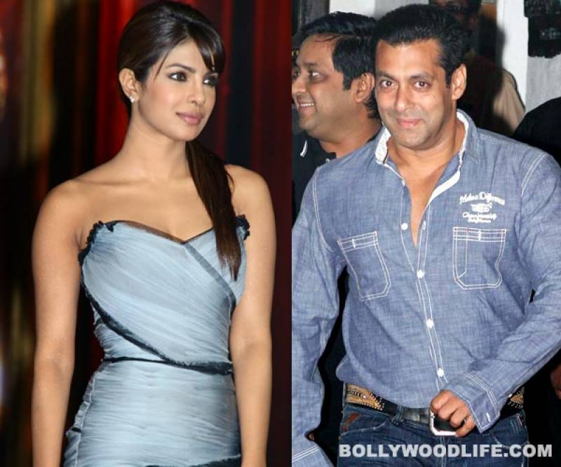 Priyanka Chopra and Salman Khan set to star in a movie together after almost a decade