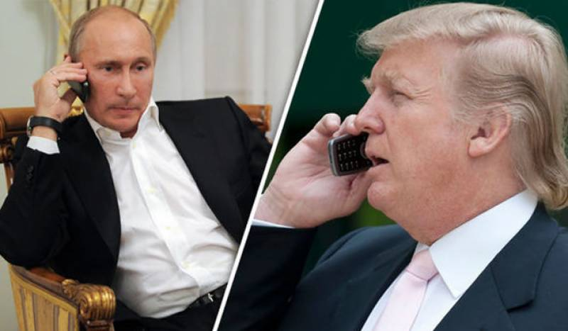 Putin, Trump agree that arms race is 'undesirable'