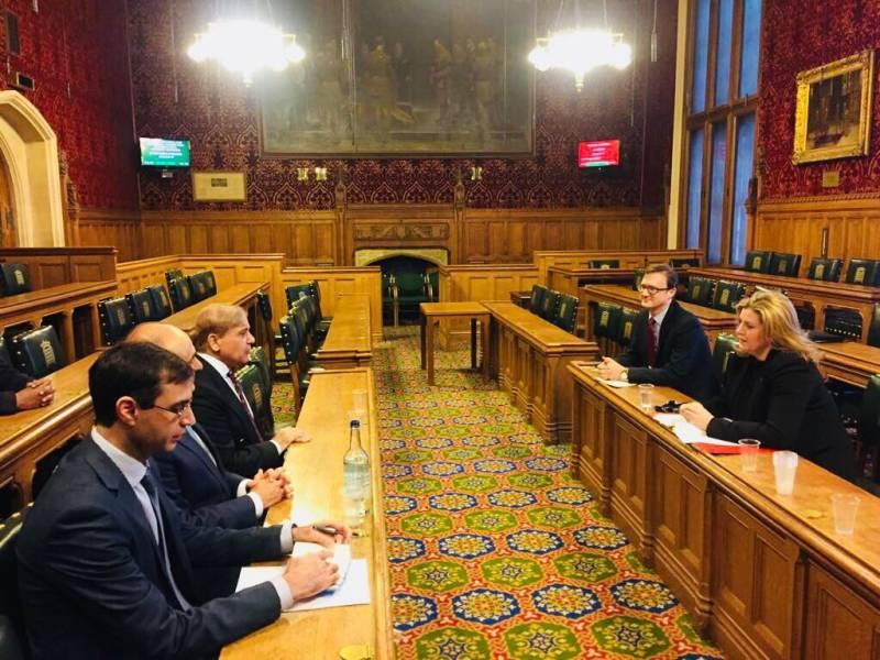 Shehbaz Sharif meets UK secretary for DFID