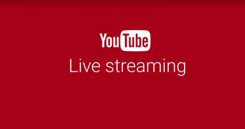 YouTube live stream feature will soon be available on smartphones camera application