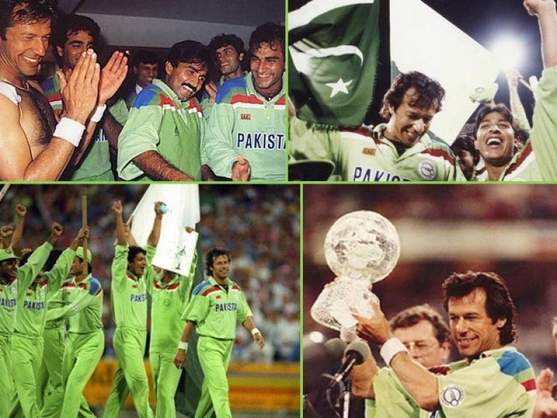 On this day, Imran Khan led Pakistan to World Cup glory in 1992
